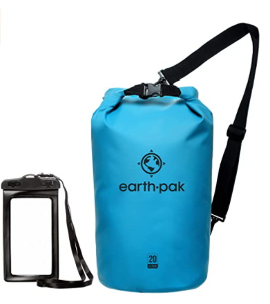 Earth Pak -Waterproof Dry Bag - Roll Top Dry Compression Sack Keeps Gear Dry for Kayaking,